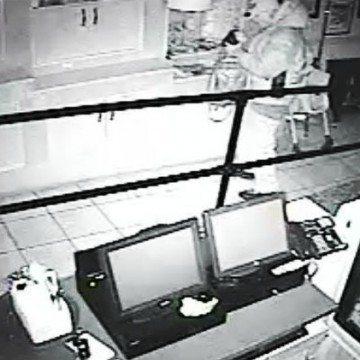 Suspect at Dancing Moose Cafe
