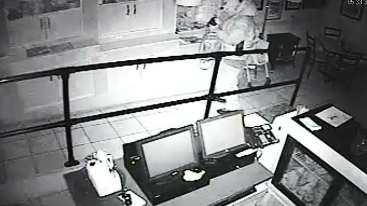Suspect at Dancing Moose Cafe