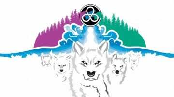 South Slave Arctic Winter Games bid logo