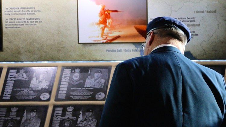 Afghanistan Memorial Vigil in Yellowknife
