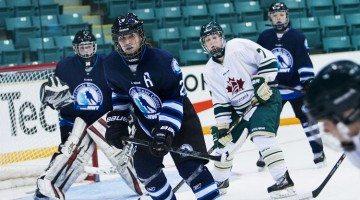 NWT female hockey players