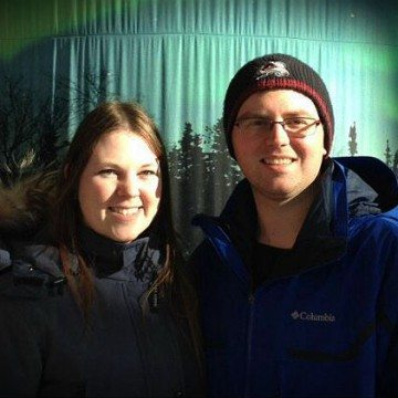 Emily Van Koeveringe and Kirk Roy at NWT Days in Ottawa