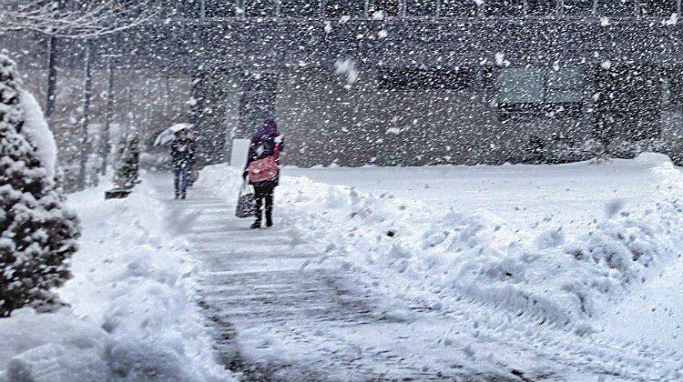 Snowstorm image