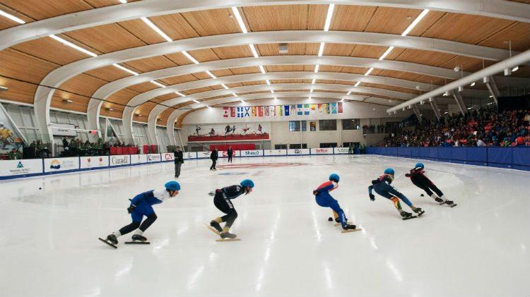 Speed skating at the Canada Games