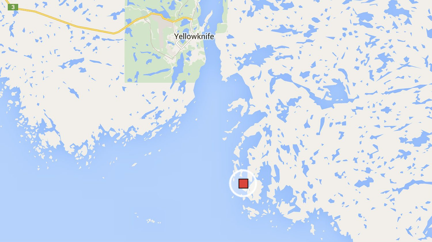Map showing Inner Island