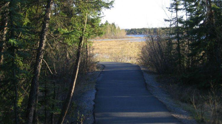 Frame Lake Trail