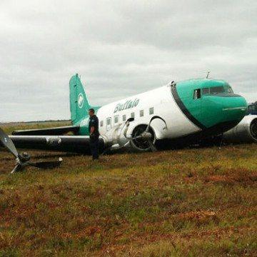 Buffalo DC-3 after August 2013 crash landing
