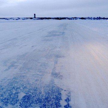 Dettah ice road