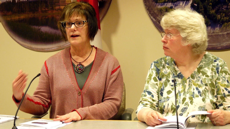 Lani Cooke and Lyda Fuller