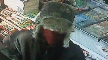 Surveillance footage of Shell robbery