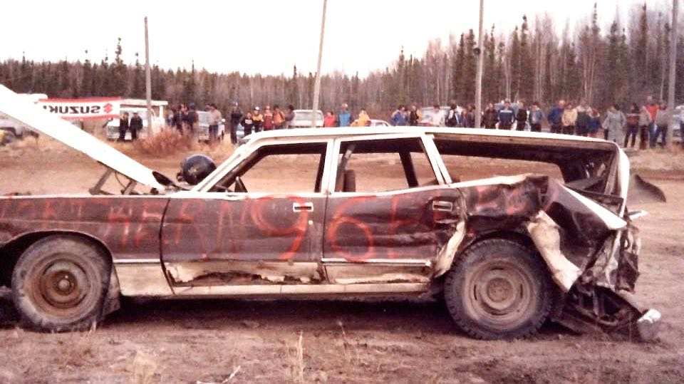 Yellowknife stock car track