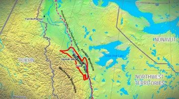 Map of Mackenzie Plain