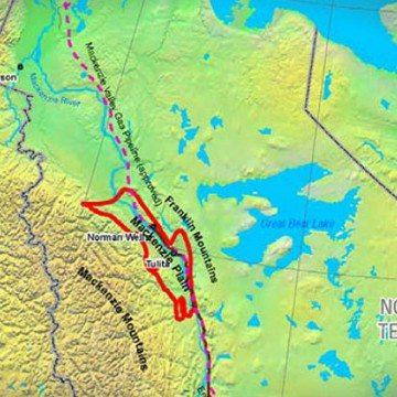 Map of Mackenzie Plain