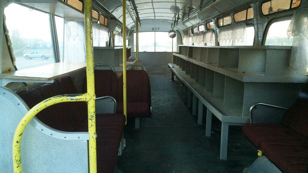 Cash and Carry bus
