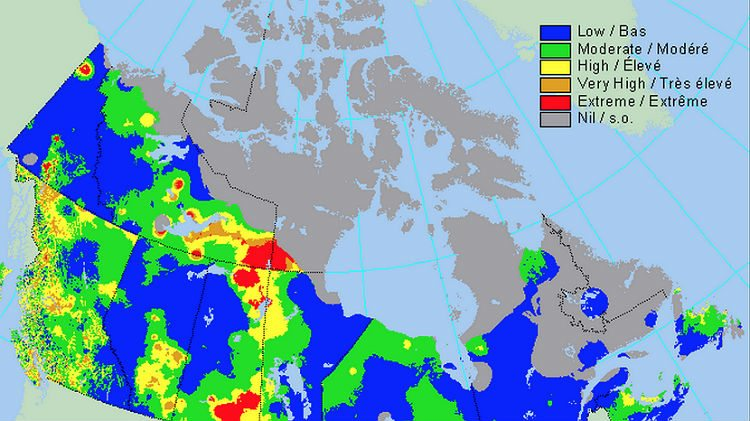 NWT fire season a list of useful maps – Map It Canada