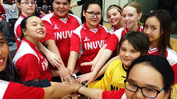Inuvik Super Soccer team