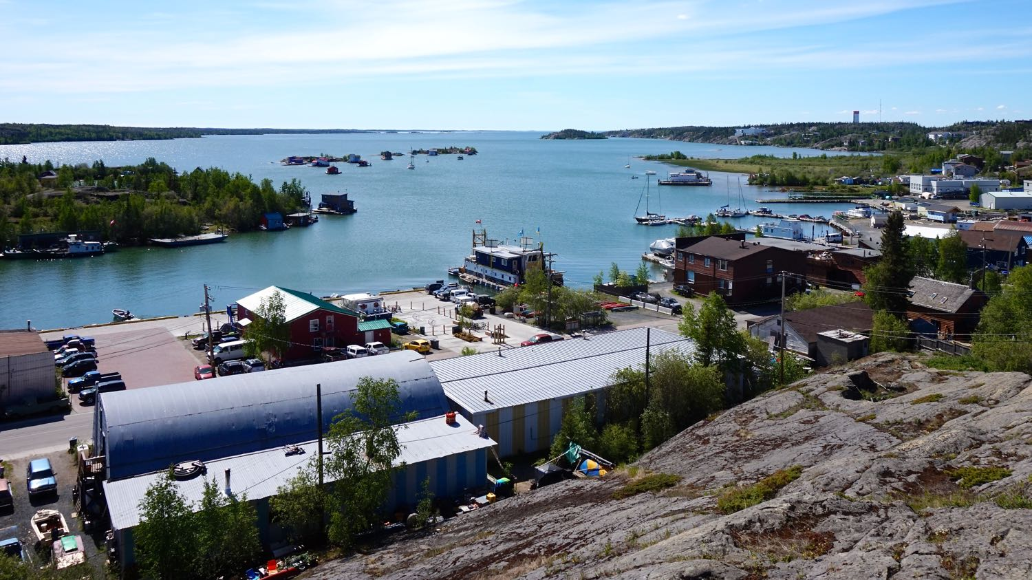 Yellowknife generic view (Old Town)