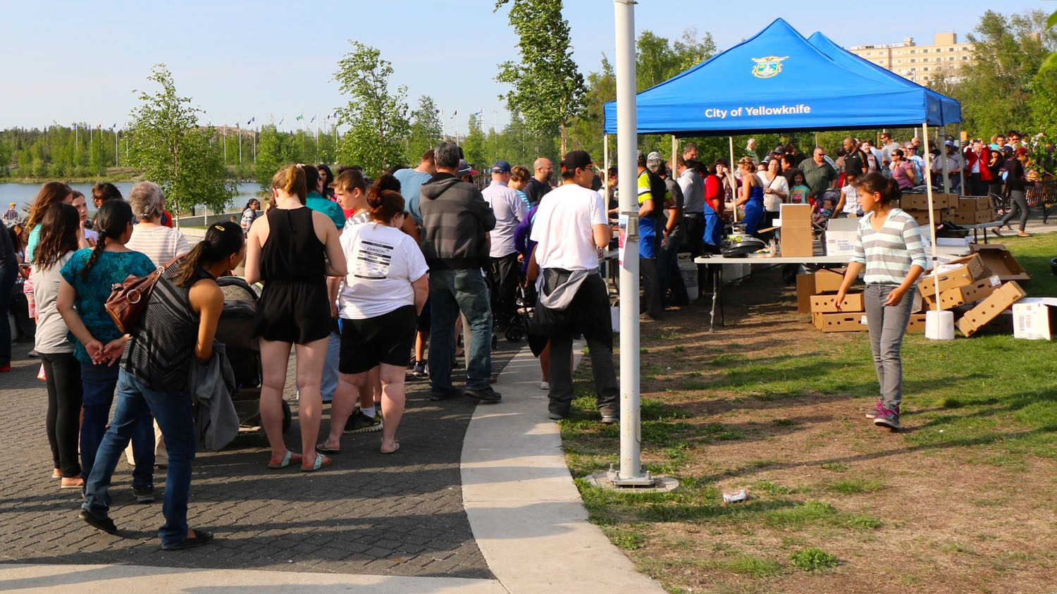 City of Yellowknife community barbecue