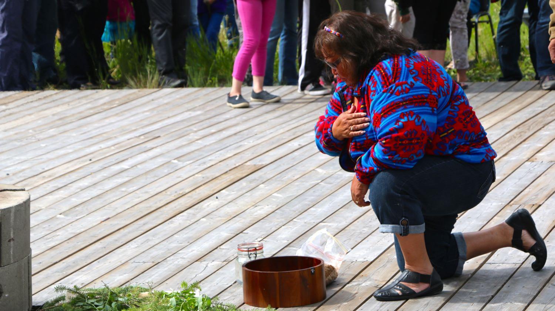 Aboriginal Day at Yellowknife River