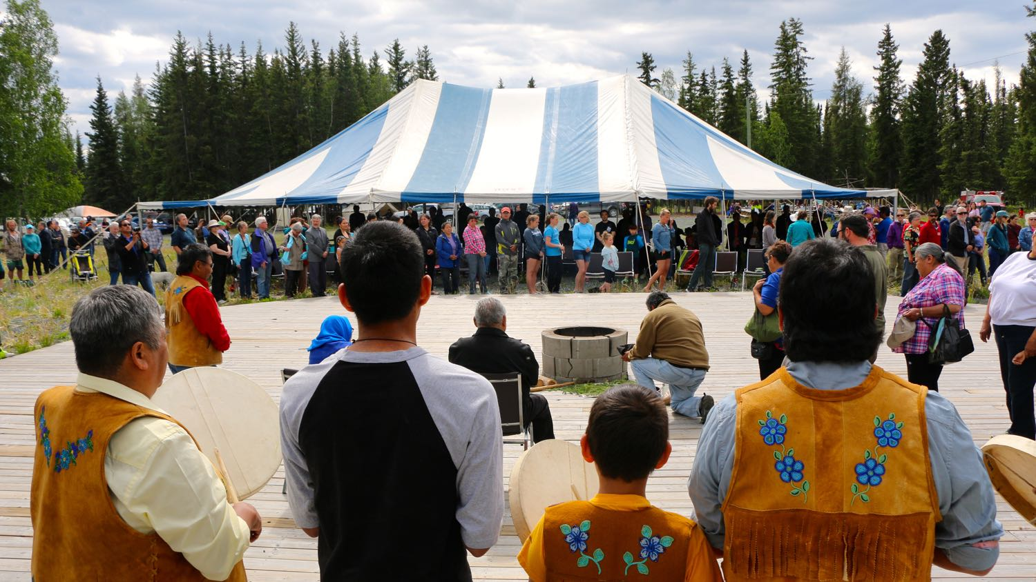 Aboriginal Day at Yellowknife River