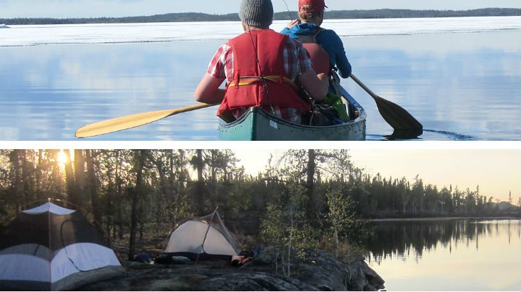 Arctic Tern canoeing maps