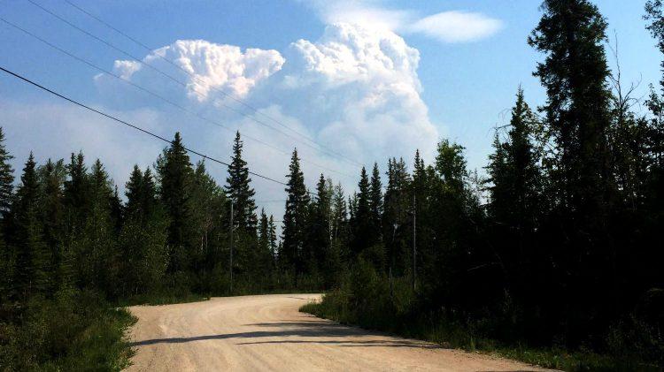 Hay River fire - June 30, 2015