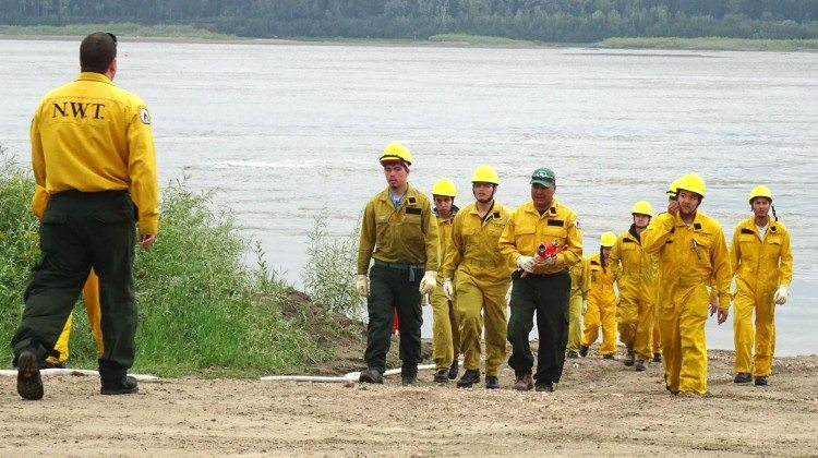 NWT fire personnel