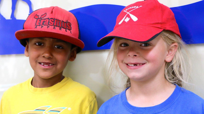 Sundogs players Tarun Budgell and Mina Lockhart