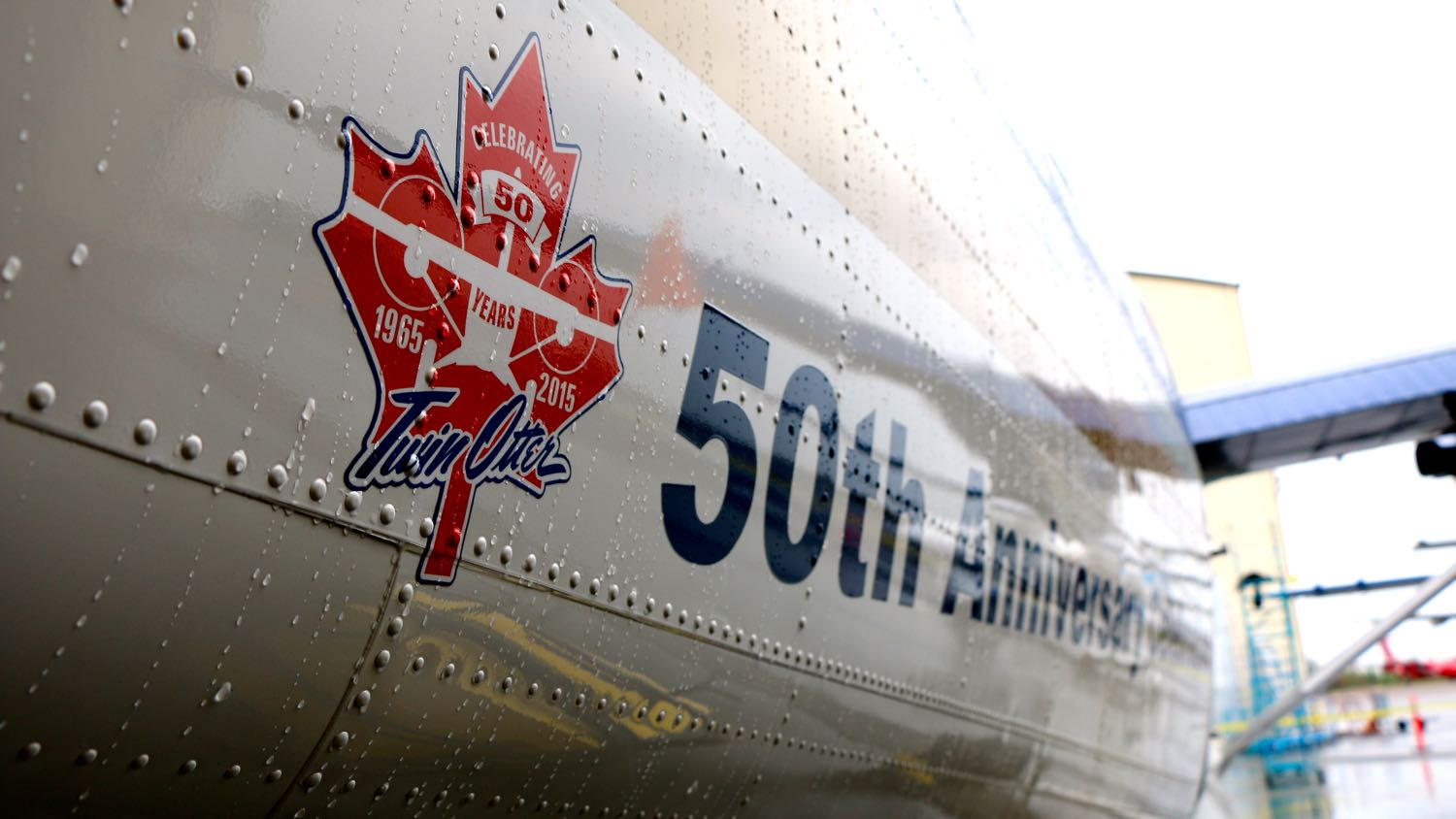 Twin Otter 50th anniversary in Yellowknife