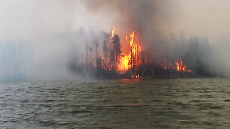 Namushka Lodge fire