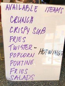List of KFC items