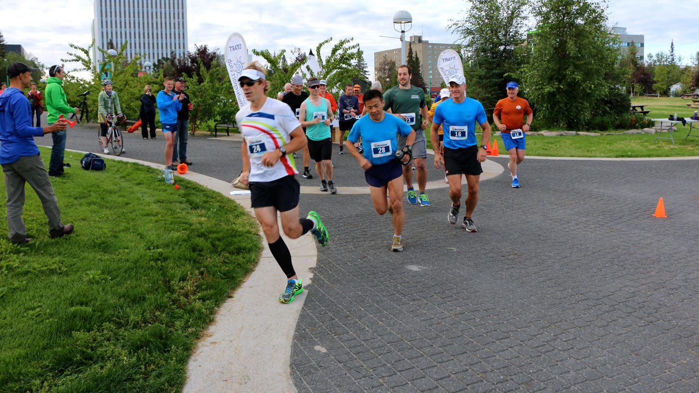Yellowknife Marathon 2015
