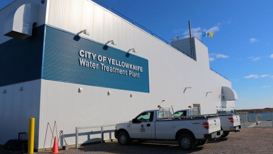 Yellowknife water treatment plant