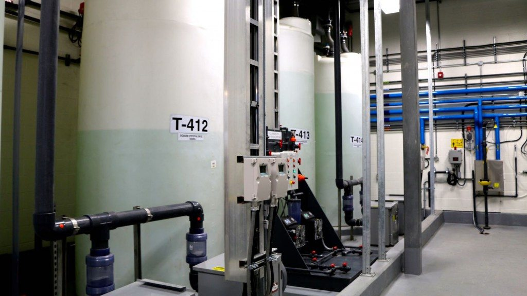 Inside Yellowknife's water treatment facility