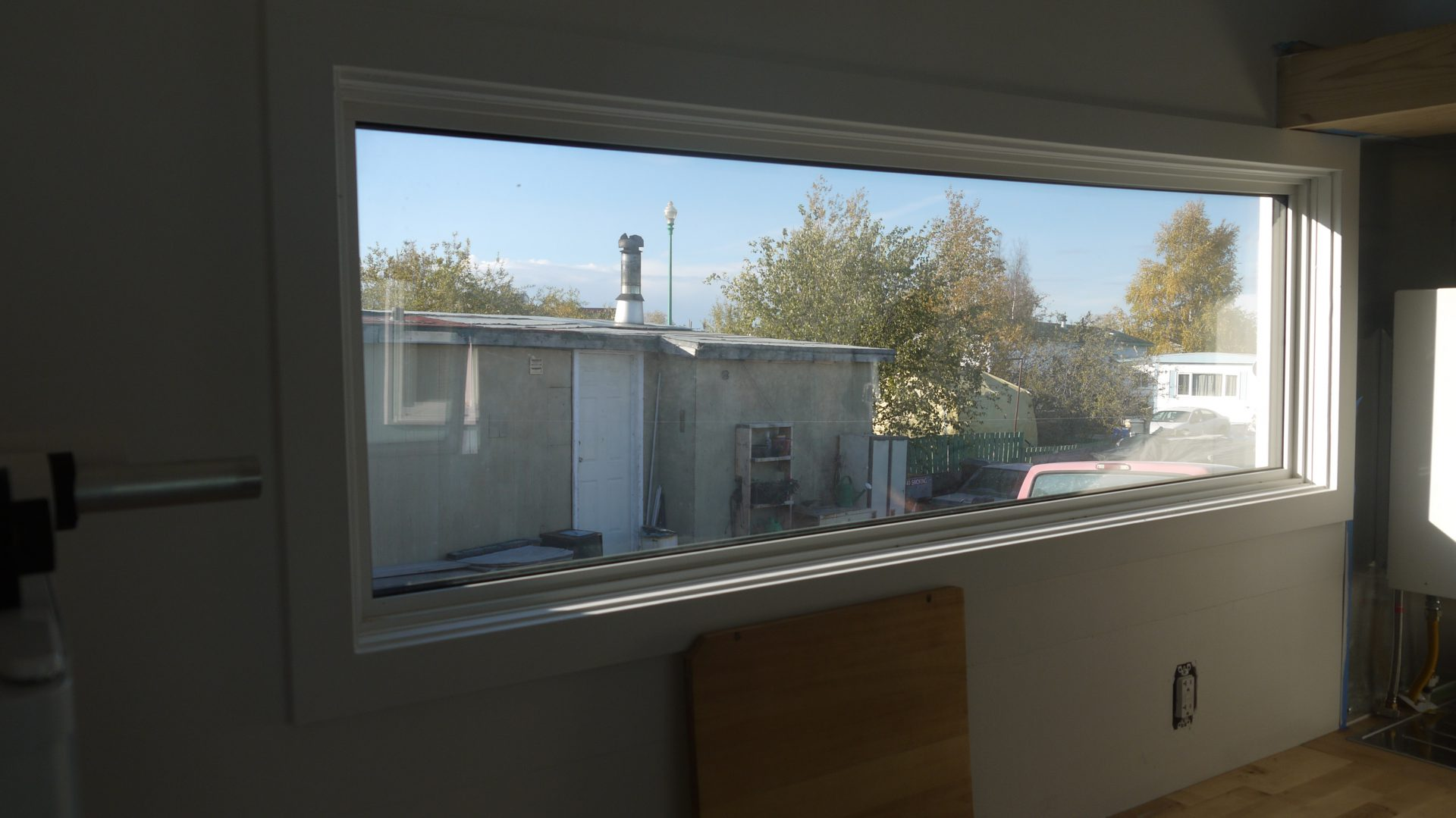 Croteau will have a pretty nice view from his kitchen.