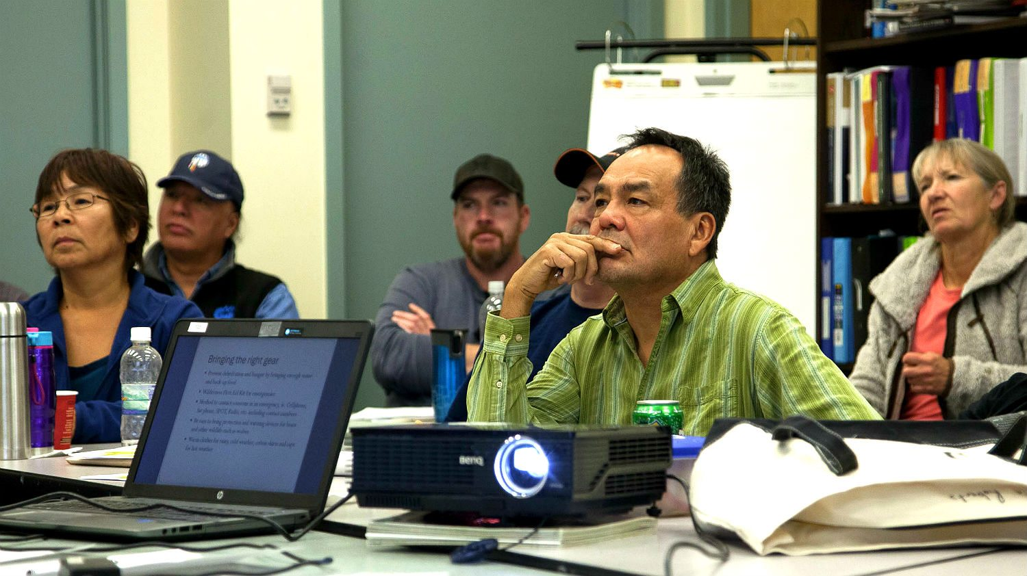 Prospecting course in Yellowknife