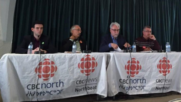 Candidates at CBC forum