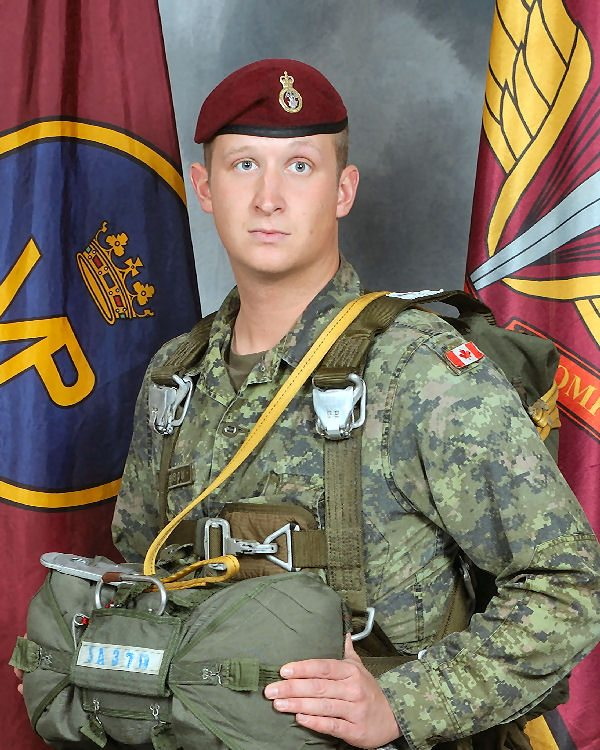 Corporal Jordan Anderson was 25 years old when he was killed by a roadside bomb outside Kandahar City, Afghanistan.