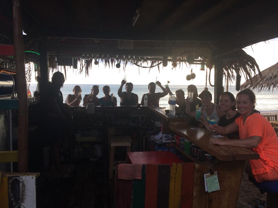 Pictured is the beach bar in Thailand where Zettel served up Caesar cocktails for Canadians and other nationals.