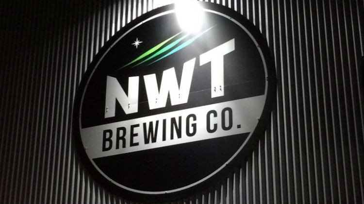 NWT Brewing Co sign