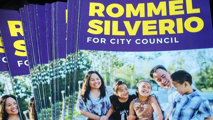 Rommel Silverio leaflets