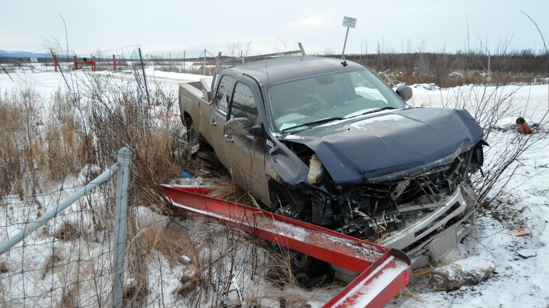 Stolen car in Norman Wells