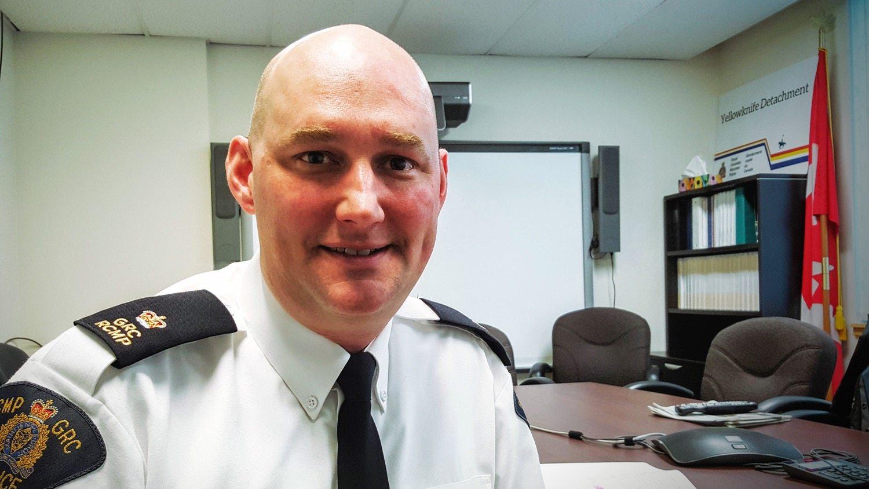 Inspector Matt Peggs