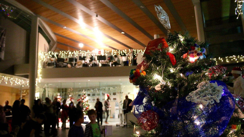 Legislative Assembly turns on Christmas lights