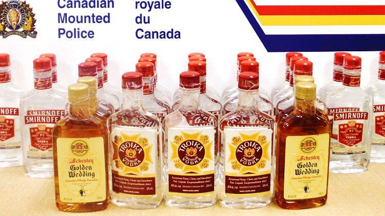Mickeys of liquor bound for Kugaaruk