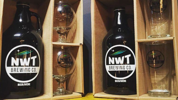 NWT Brewing Co growlers