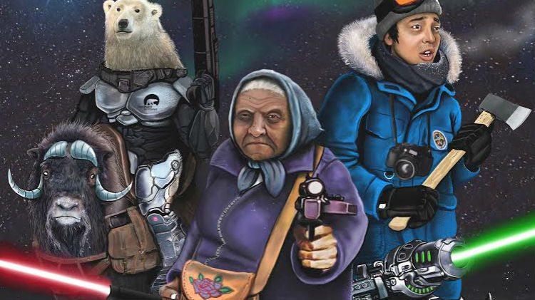 Artwork for the 2016 Dead North film festival