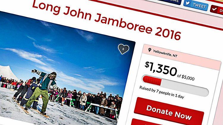 Long John Jamboree's online fundraiser