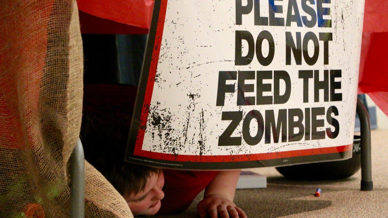 Zombies versus cub scouts