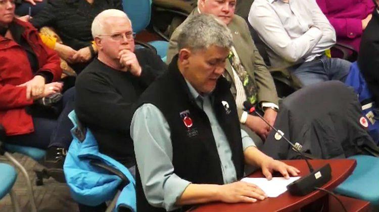Robert C McLeod at City Hall